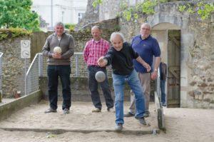 ┬®D.Drouet - Jeu traditionnel de boule de sable