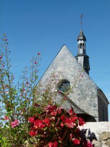 La Chapelle Sainte Croix inscrite à l'inventaire des monuments historiques Le Mesnil-en-Vallée