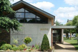 La mairie du Mesnil-en-Vallée