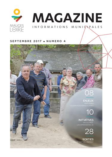 Couverture Mauges-sur-Loire Magazine septembre 2017