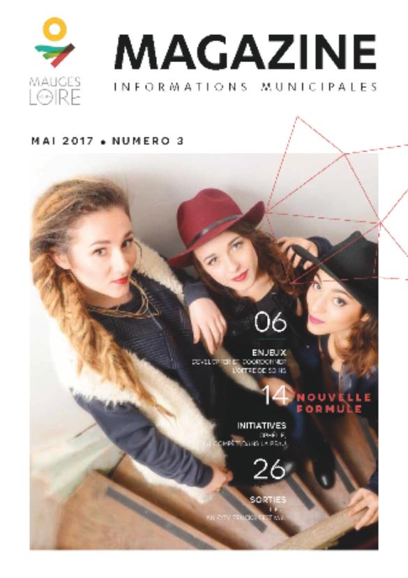 Couverture Mauges-sur-Loire Magazine mai 2017