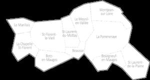 Carte Mauges-sur-Loire