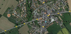 localisation lotissement Bareillerie Bourgneuf-en-Mauges