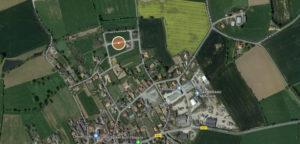 localisation lotissement rabionnière Botz-en-Mauges