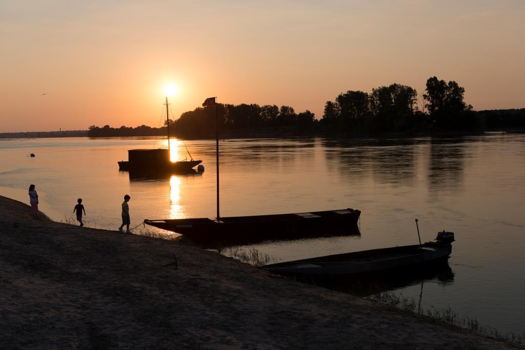 ©D.Drouet- Bateaux sur la Loire