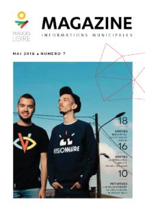 Couverture Mauges-sur-Loire Magazine mai 2018