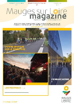 Couverture Mauges-sur-Loire Magazine janvier 2017