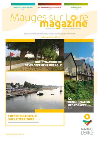 Couverture Mauges-sur-Loire Magazine septembre 2016