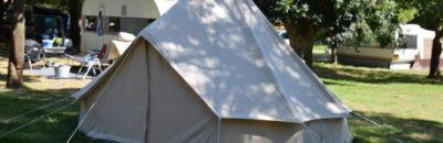 Tente et camping-cars au Camping EcoLoire