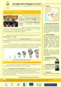 Lettre d'info n°4 - Décembre 2017 - Projet de légumerie à Mauges-sur-Loire