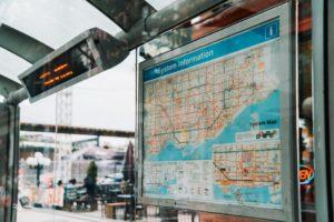 City transit map