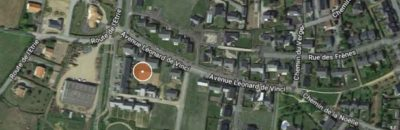 Localisation du lotissement Le Tertre à Saint-Florent-le-Vieil